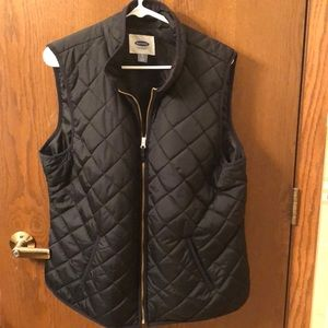 Old Navy quilted best XL